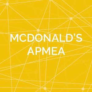 McDonald's APMEA