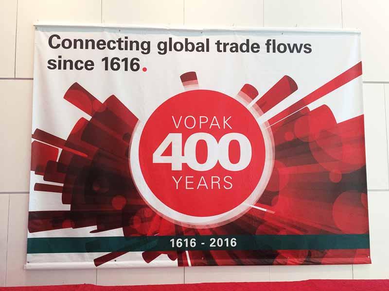 Vopak Asia - Event Branding