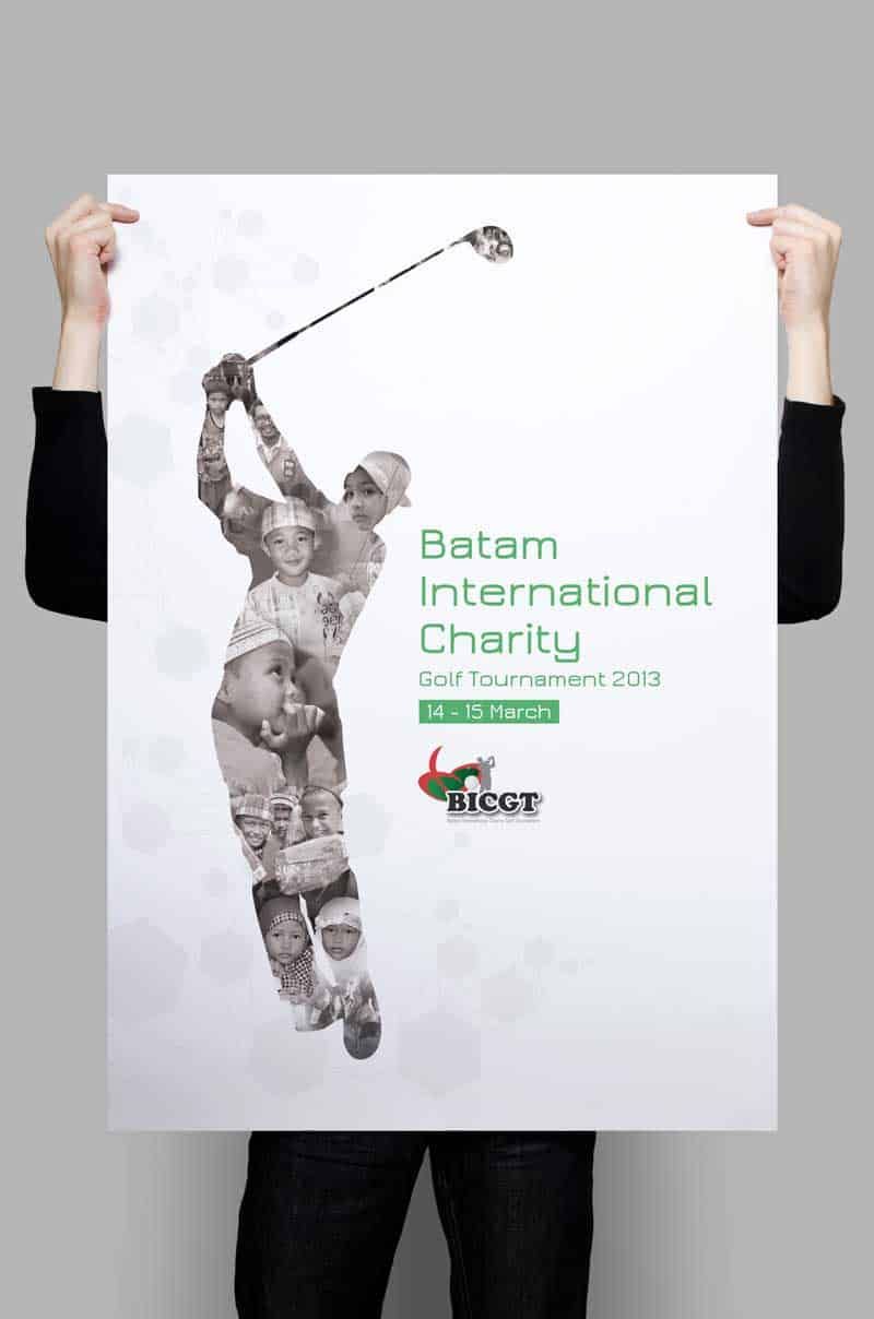 Charity Golf Tournament Poster