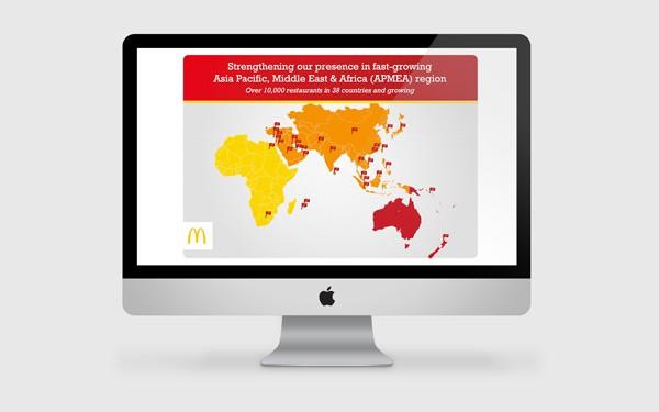 McDonald's LinkedIn Content